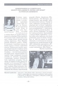 5. Korespondencja z Portugalii