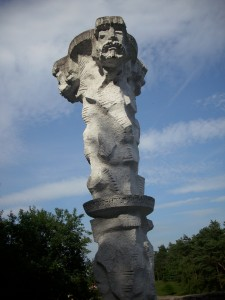 1. Pomnik Trygława, Wolin