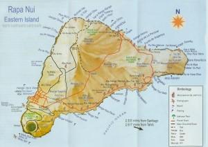 11a. Mapka Wyspy Wielkanocnej