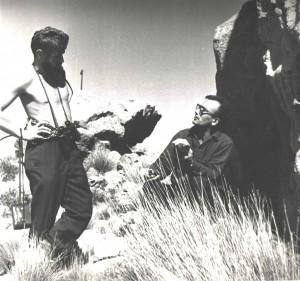 Patagonia 1966.Wykład z geologii.Kpt.B.Kowalski_mgr.L.Mączka_fot.K.Baranowski