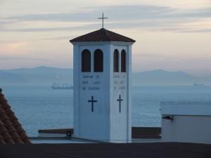 Gibraltar, w tle Afryka. Fot K. Robak