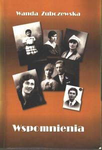 Wspomnienia dr Wandy Zubczewskiej_skan okładki