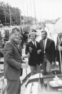 zdj od A. Soko?owskiego; od lewej: Z. Hrynkiewicz, Alik Dudarenko, W. Jacobson, A. Brancewicz, S. Gruszczy?ski.
