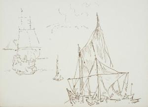 Zb. Herbert, szkic z Holandii, 1976r.