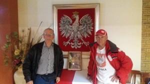 Na spotkaniu w klubie im.Gen.Władysława Sikorskiego
