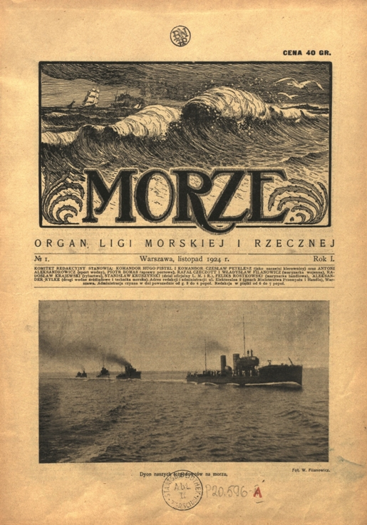 Marek Słodownik Morze Cz 1 1924 1939 Zeszyty żeglarskie