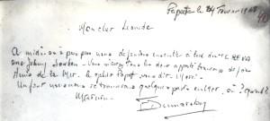 Księga gości Opty Popof Papeete 24.02.1968