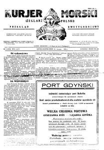 nr 15.1931, pierwszy po połączeniu z Żeglarzem Polskim