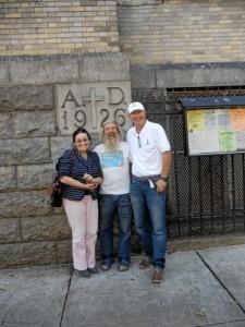 DSC00517Waldemar Sulkowski organizator regat samotnikow w NY, Ja I Olek 2011