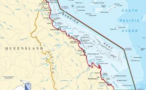 Południowa część Wielkiej Rafy Koralowej