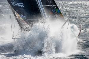 Boris Herrmann, skipper de l'IMOCA Seaexplorer - Yacht Club de Monaco à l'entrainement avant le départ du Vendée Globe 2020-21, Bretagne sud le 25 septembre 2020, Photo © Jean-Marie LIOT / Malizia